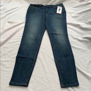 Jessica Simpson high rise skinny blue jeans Sz. 8